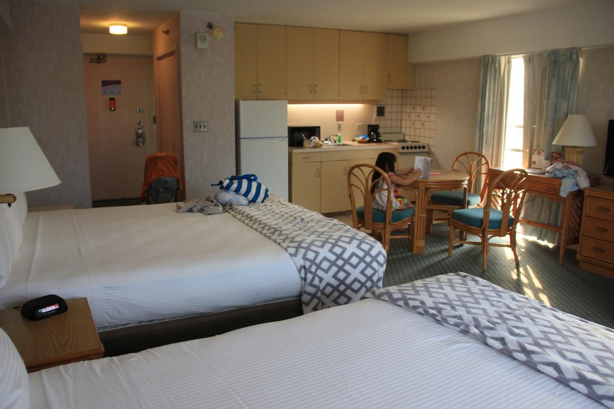 イリマホテルの部屋