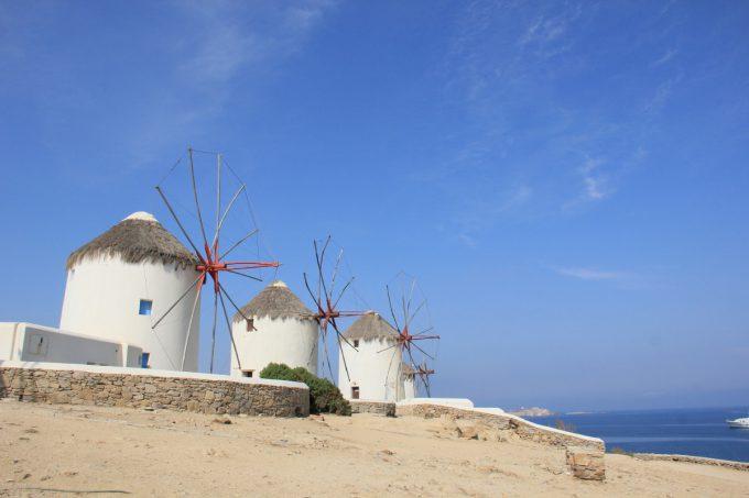 6つの風車