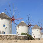 ギリシャ1/ミコノス島の風車