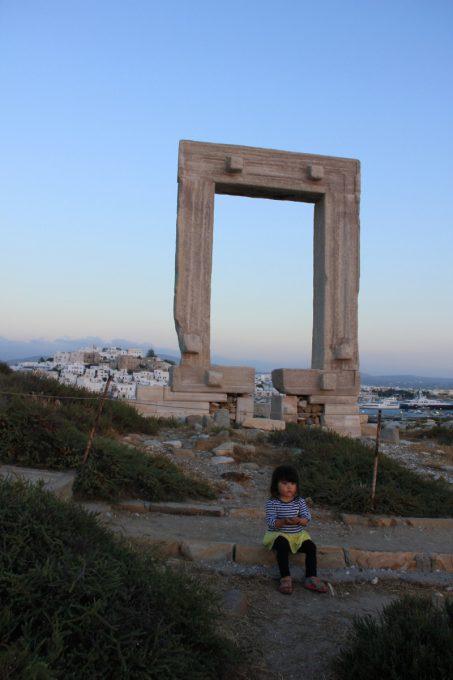 アポロ神殿の門