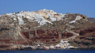 ギリシャ7/サントリーニ島へフェリーで移動