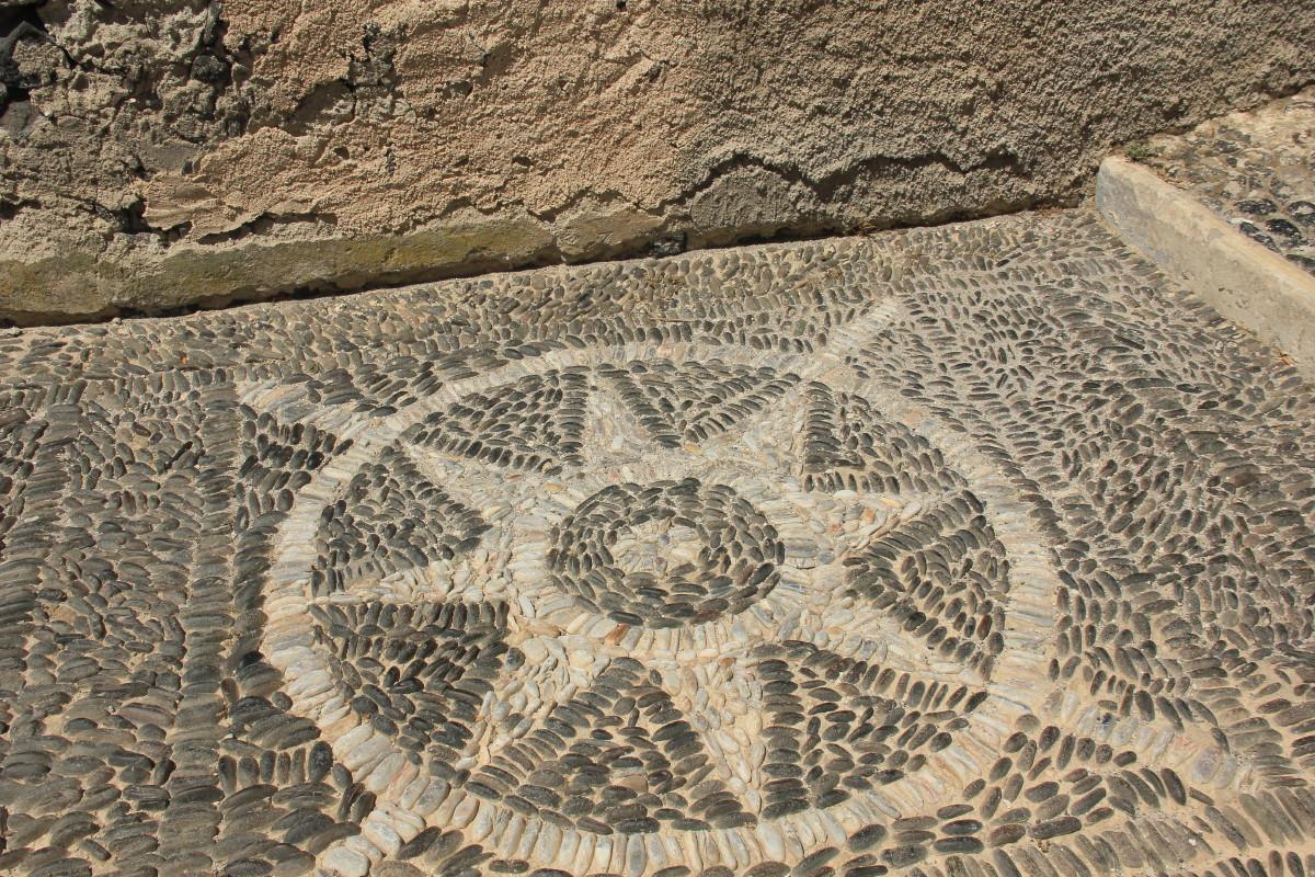 石畳の模様