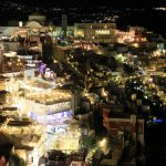 ギリシャ9/サントリーニ島/フィラの夕景・夜景