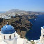 ギリシャ10/サントリーニ島/フィラの街から歩いて絶景探し