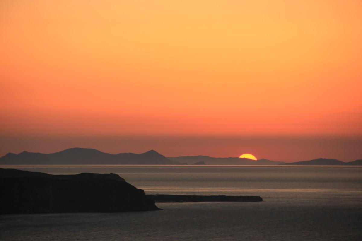 フィラの夕陽