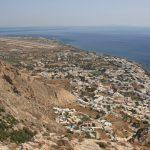 ギリシャ13/サントリーニ島/古代ティラ