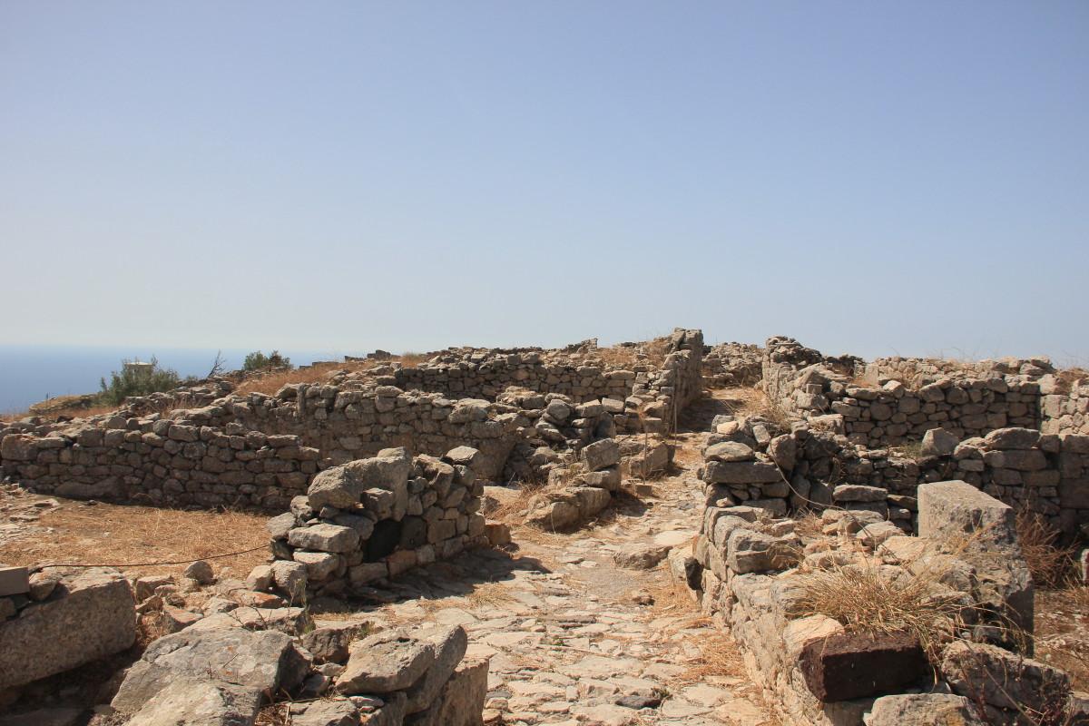 古代ティラの遺跡