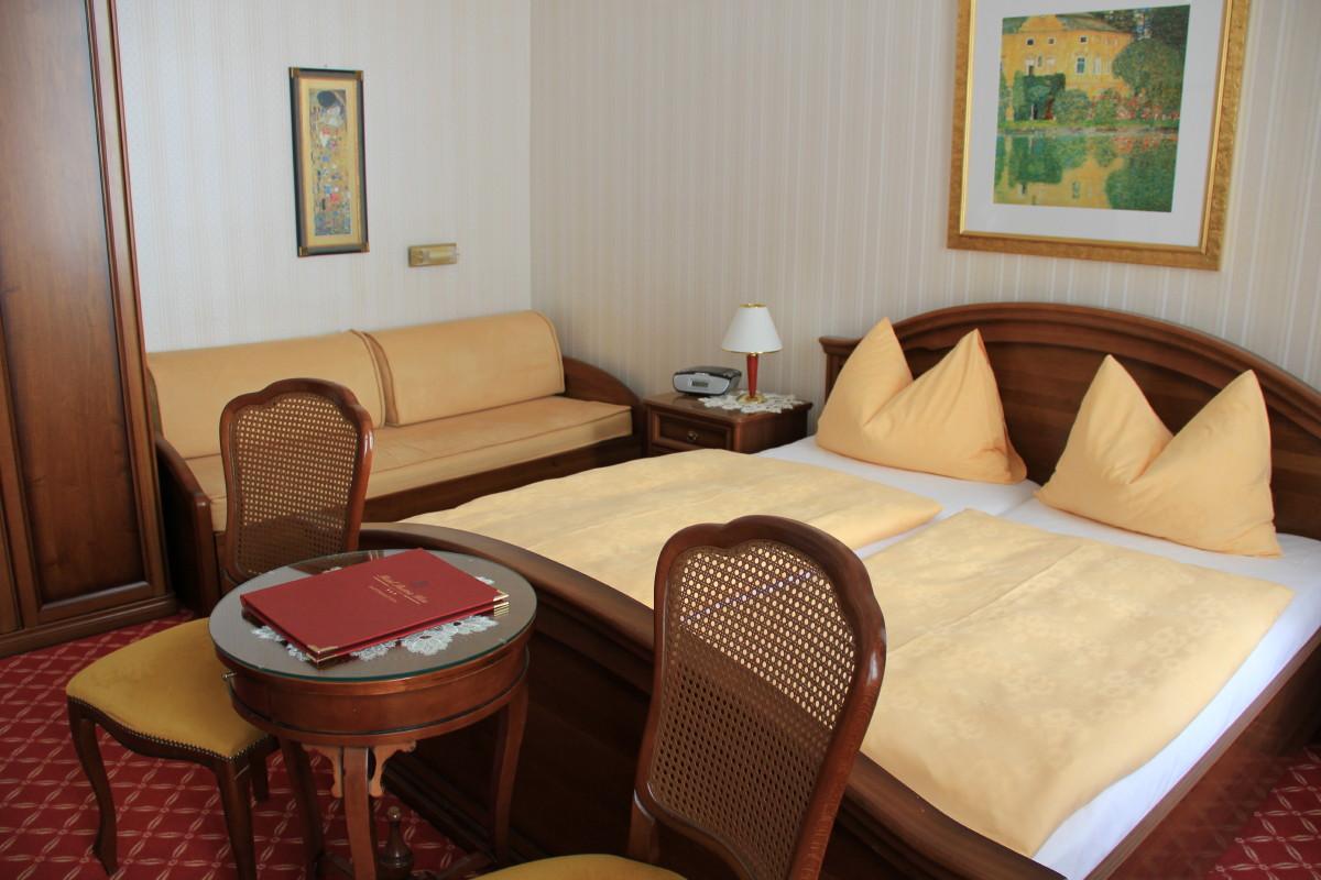 ホテルオーストリアの部屋