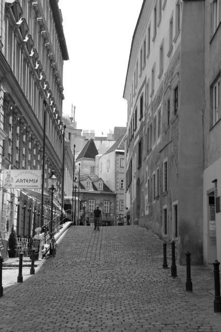 ウィーンの路地