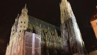 中央ヨーロッパ周遊7/オーストリア/ウィーンの夜景