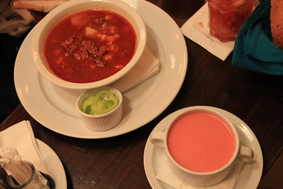 グヤーシュとスープ