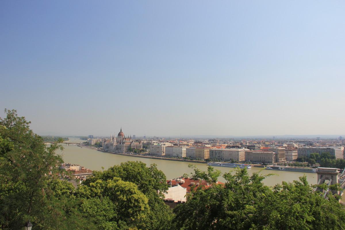 ドナウ川とプダペスト