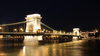 中央ヨーロッパ周遊12/ハンガリー/ブダペストの夕景、夜景
