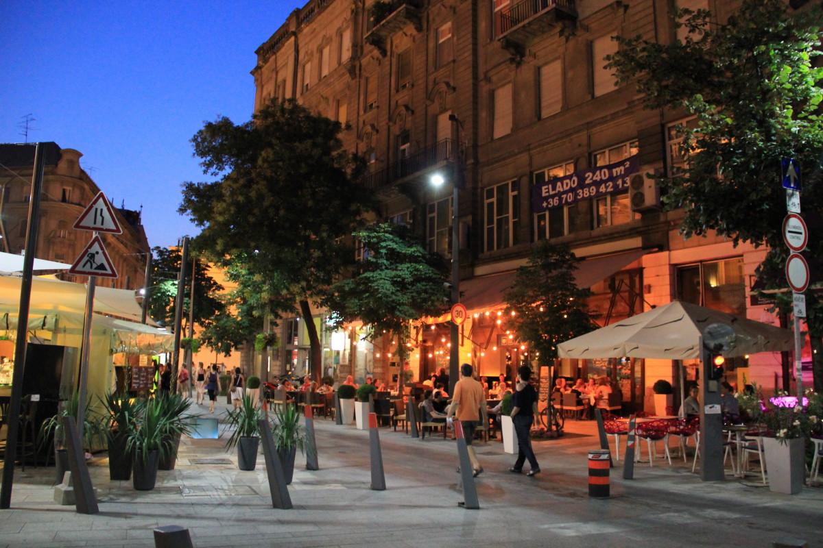 ブダペストの夕暮れ