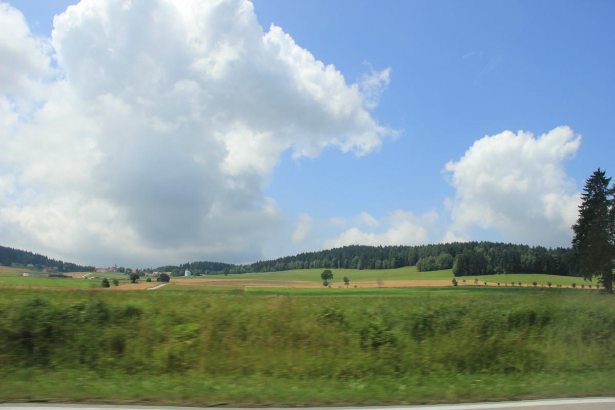 チェコの丘