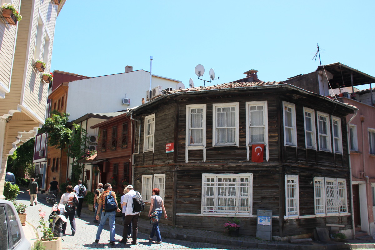 木造の建物