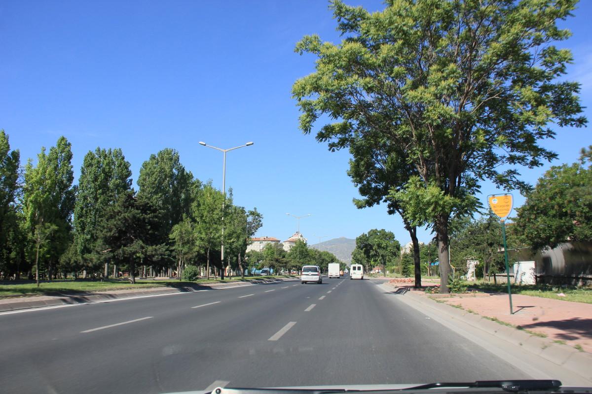 カイセリの道