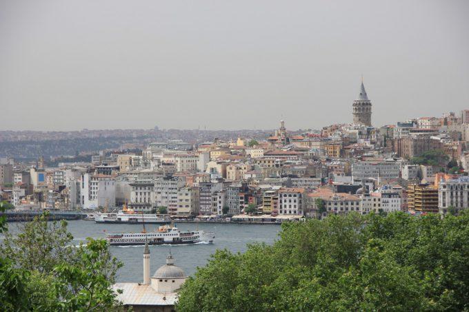 イスタンブールの街