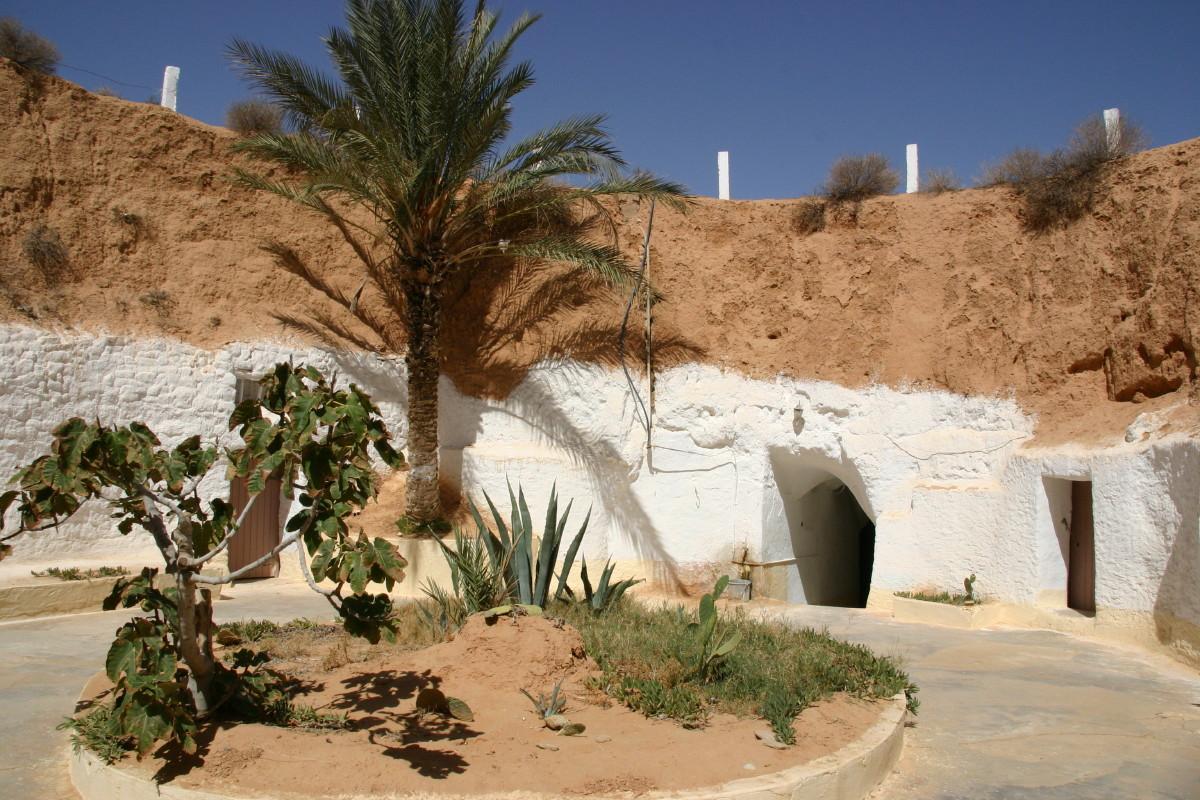 マトマタの洞窟住居