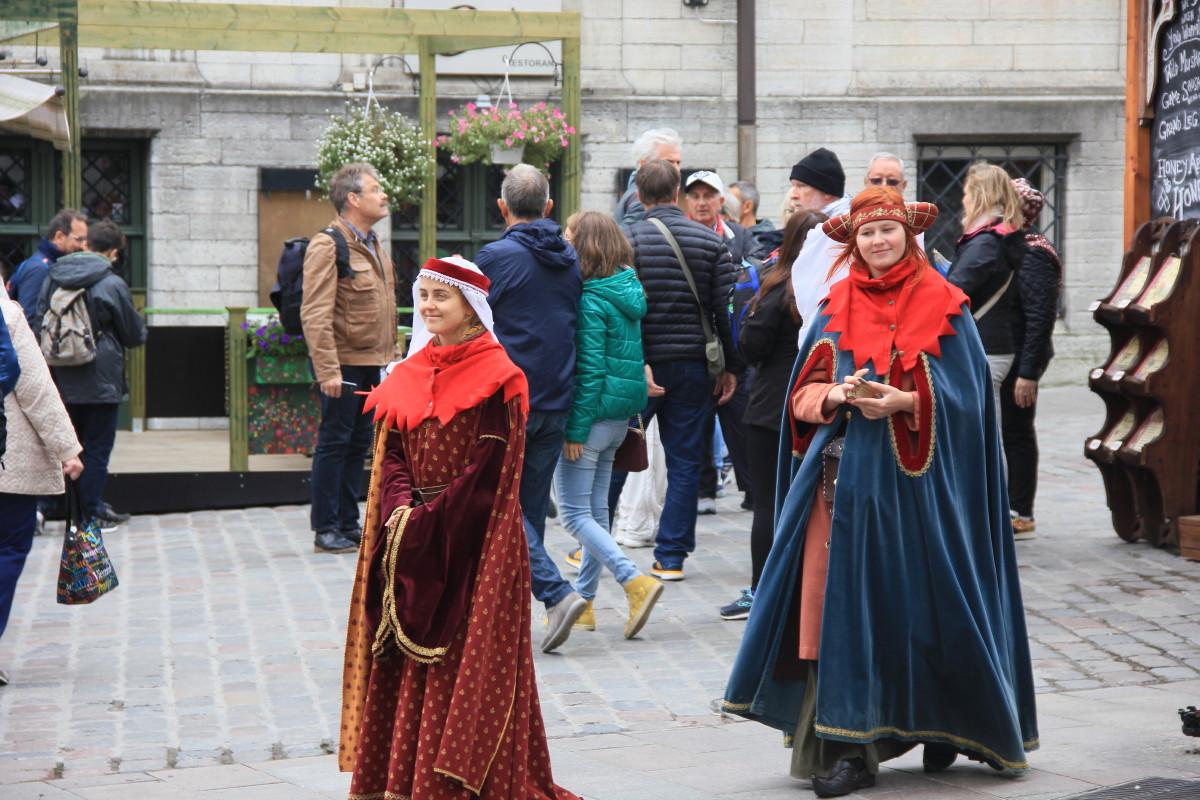 中世のコスプレ